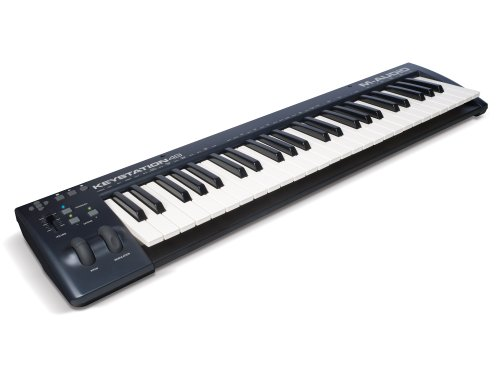 1. M-Audio Keystation 49-Key USB MIDI Keyboard Controller