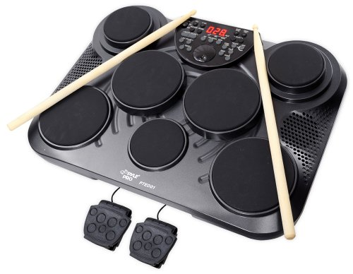 Pyle-Pro PTED01 Electronic Table Digital Drum Kit