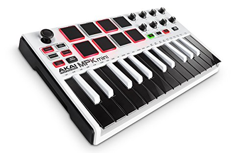 AKAI Professional MPK Mini MKII LE 25-Key Portable USB MIDI Keyboard