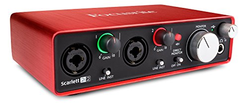 Scarlett 2i2 by Focusrite