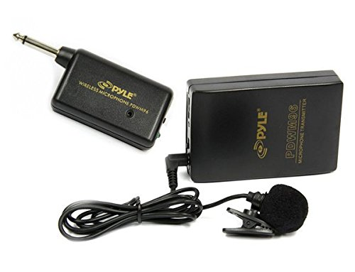 Pyle-Pro-PDWM96-Lavalier-Wireless-