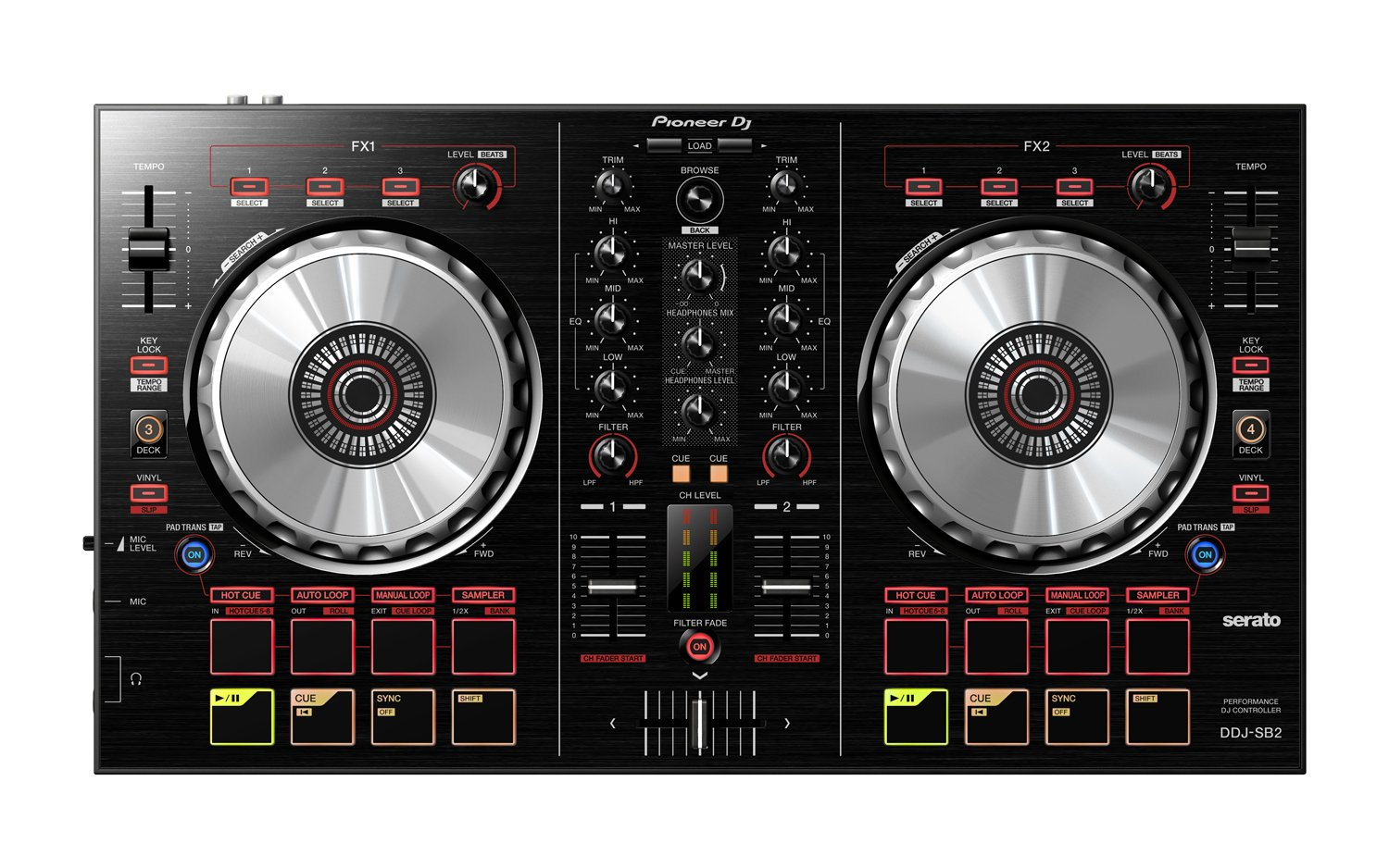 Pioneer-DDJ-SB2-Portable-2-channel