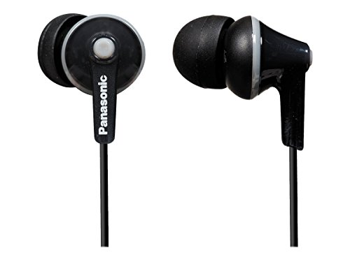 Panasonic-Wired-Earphones-Black-RP-HJE125-K