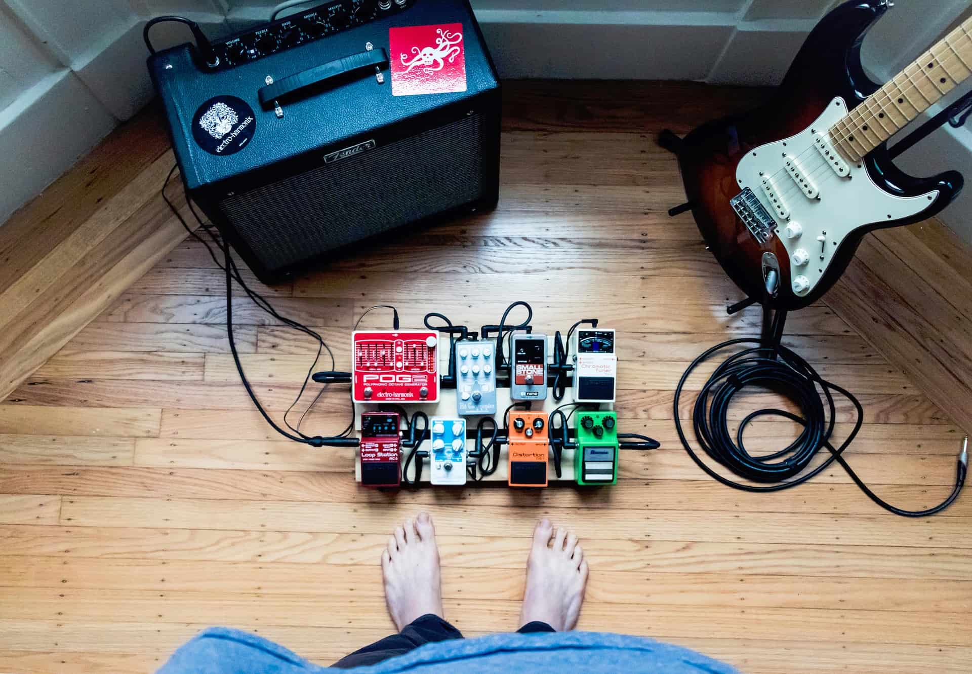 Where do you put a Wah Pedal?