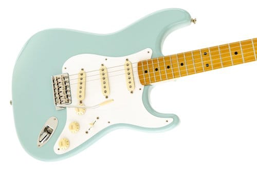 Fender Classic Series 50s Strat in Blue