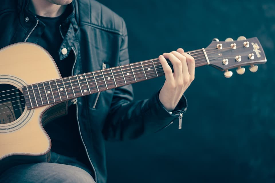 How does an Acoustic Electric Guitar work