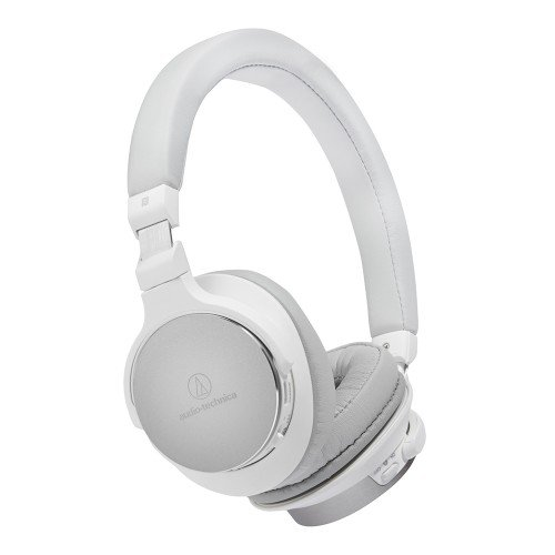 Audio-Technica ATH-SR5BTWH Bluetooth Wireless On-Ear Audio Headphones