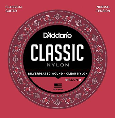 D'Addario EJ27N StudentNylon Classical Guitar Strings