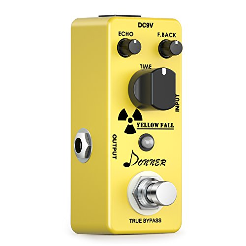 Donner Yellow Fall Vintage Pure analog delay pedal for guitar