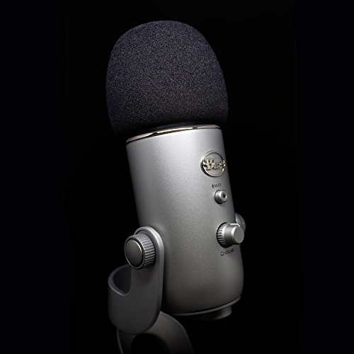 best foam pop filter for Blue Yeti microphone