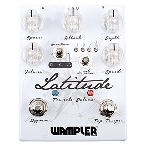 Wampler Pedals Latitude Tremolo Effects Pedal