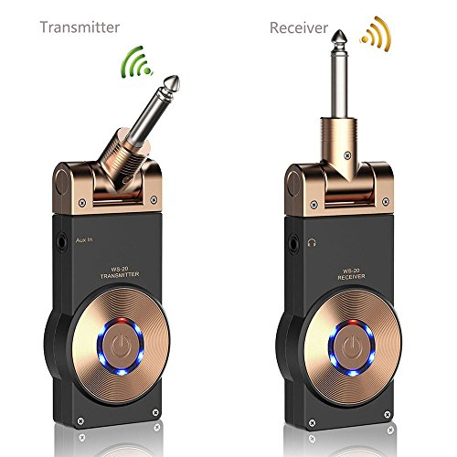 Getaria 2.4GHZ wireless rechargeable transmitter receiver