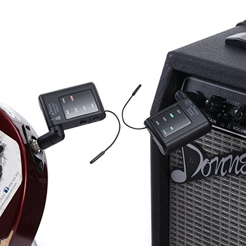 using a wireless guitar system