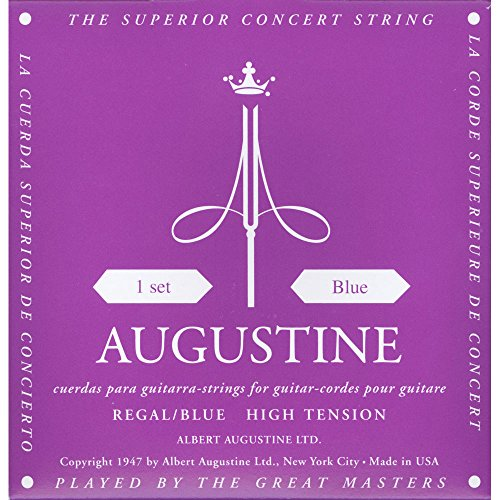 Augustine AUGREGALBLUSET Regal Blue high tension strings