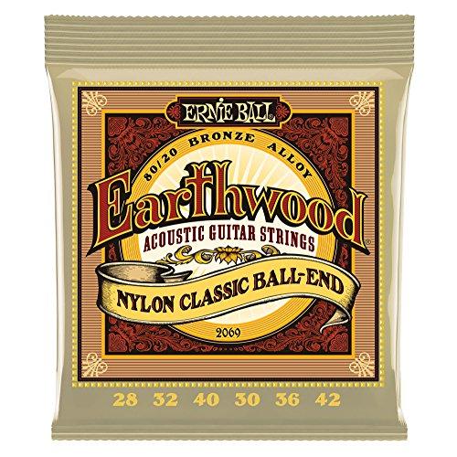 Ernie Ball Earthwood Folk nylon strings