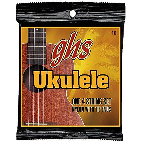 GHS Hawaiian D-Tuning Ukulele nylon string set