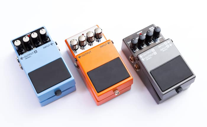 Analog Delay Pedals
