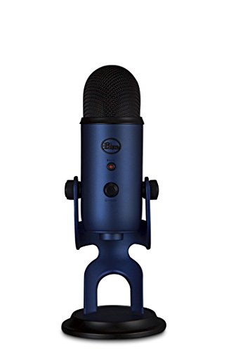 blue yeti usb condenser microphone for vocals