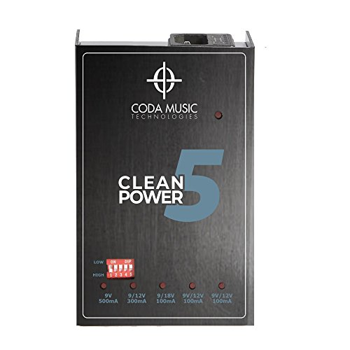 Clean Power 5 pedal power supply