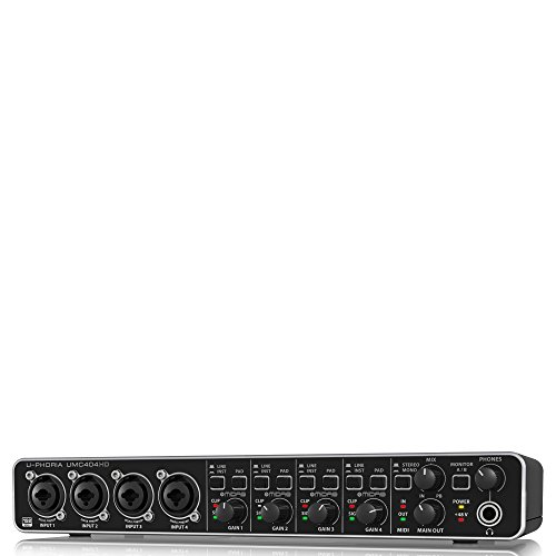 BEHRINGER U-PHORIA UMC404HD cheap audio interface