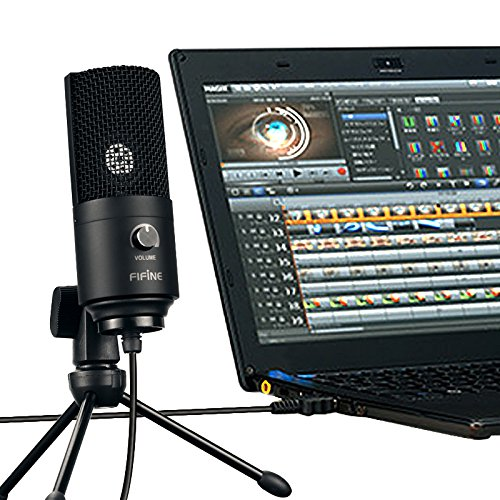 FiFine cheap condenser usb mic for recording