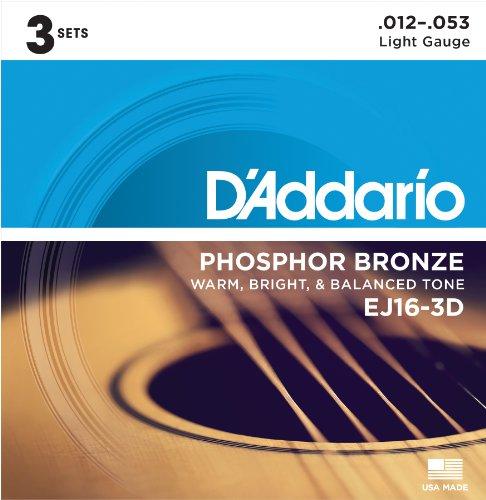 D'Addario EJ16 strings