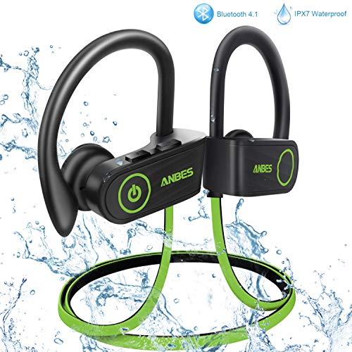 ANBES Bluetooth Headphones Waterproof In-Ear