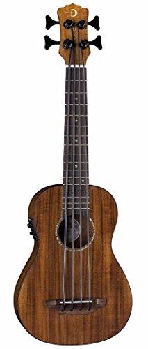 Luna Uke Bass Koa Bari-Bass Ukulele