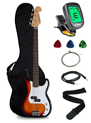 Crescent Electric Bass Starter Kit