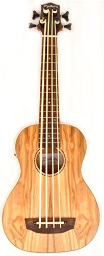 Hadean Acoustic Electric Bass Ukulele UKB