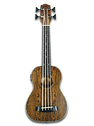 Fretless Electric Acoustic Ukulele Bass