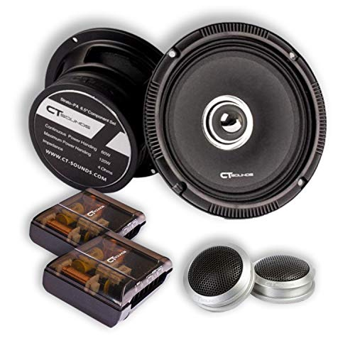 CT Sounds Strato Pro Audio 6.5 Inch Component Speaker Set