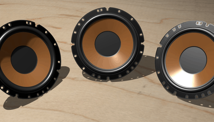 6x8 Audio speakers