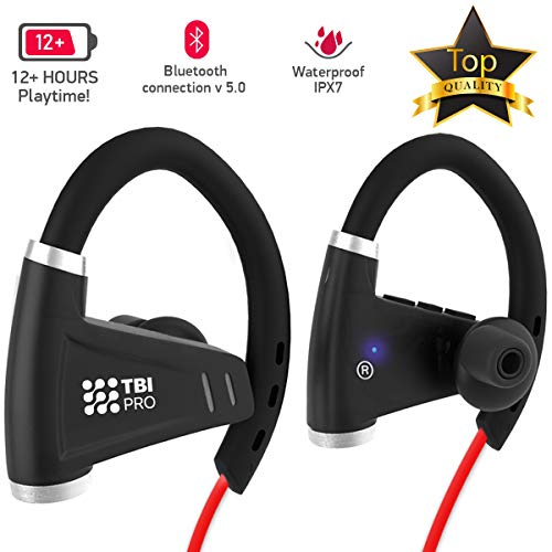 Bluetooth Headphones w/ 12+ Hours Battery