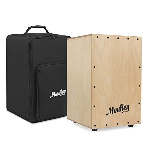Moukey Full Size Cajon Drum DCD-1