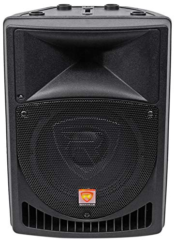 "Rockville BPA8 8"" Professional Powered Active 400w DJ PA Speaker w Bluetooth"