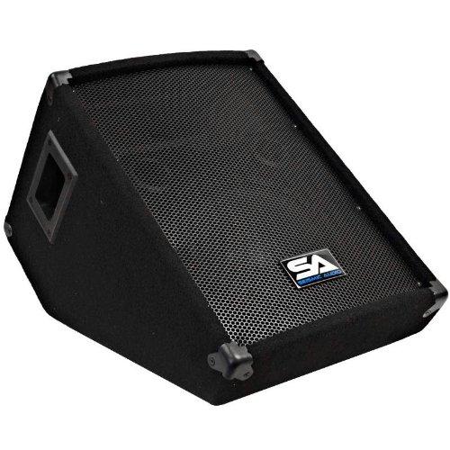 Seismic Audio Small SA-10M Single Wedge Monitors