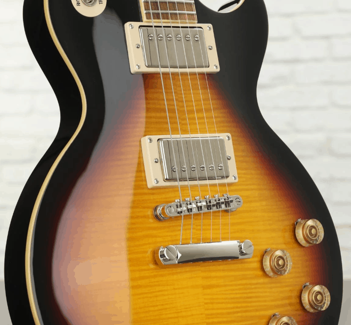 Entpvsnh Epiphone Les Paul Tribute Plus Vintage Sunburst Electric Guitar